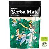 Maraña Bio Yerba Mate Tee Grün  500g lose Blätter  Natürlicher Wachmacher und Energy Booster mit Koffein  Fair Trade