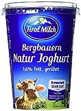 Tirol Milch Bergbauern-Naturjoghurt gerührt, 3.6% Fett i. Tr., 500 g