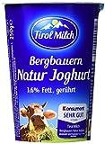 Tirol Milch Bergbauern-Naturjoghurt gerührt, 3.6% Fett i. Tr., 250 g