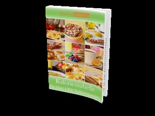 Kostenlose Kalorientabelle für über 1200 Nahrungsmittel