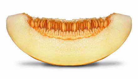 Die Melone hat wenig Kalorien und ist sehr gesund