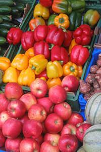 Obst und Gemüse sind gesund