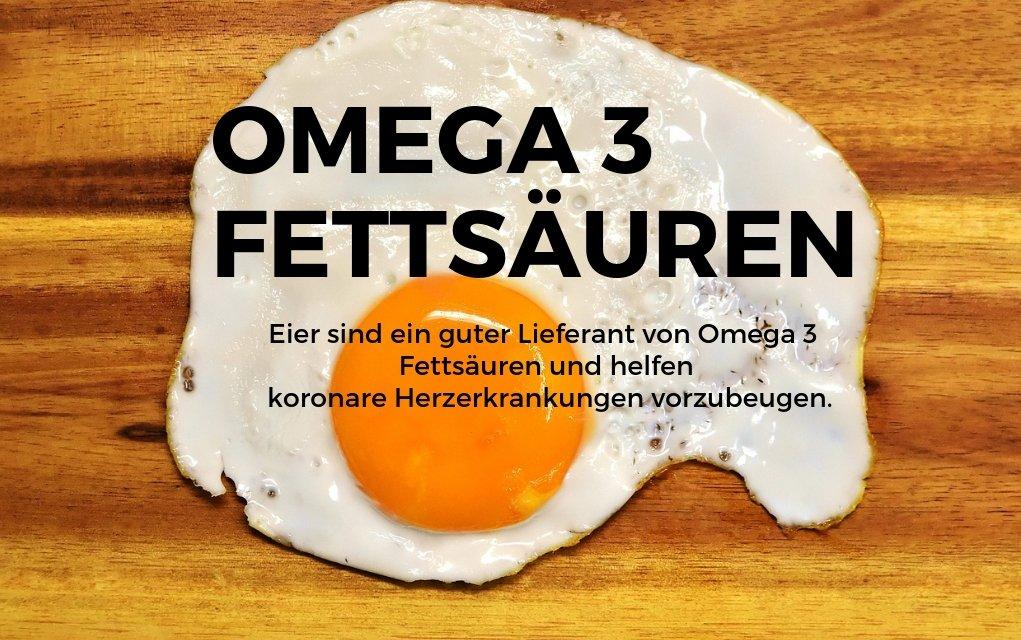 Eiern verringern das Risiko von Herzkrankheiten