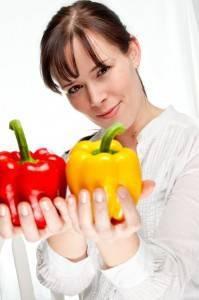 Schlechte Essgewohnheiten und gesunde Ernährung