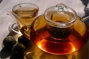 Tee gehört ebenso zu den gesunden Lebensmittel