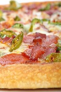 Pizza kann sehr gesund sein wenn man sie selbst zubereitet.