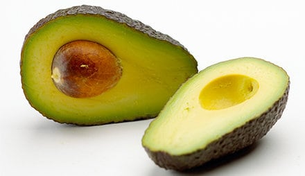 Kalorie und Nährwerte der Avocado