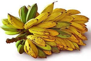 Die Banan enthält verschieden Minerlastoffe