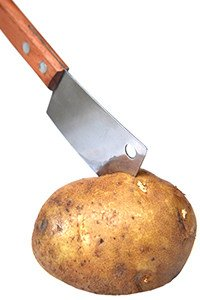 Wieviele Kalorien hat eine Kartoffel?