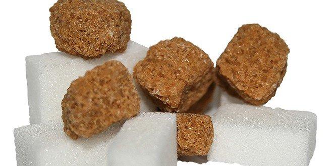 Zucker steckt z.b. in Schokolade, Ketchup und anderen Lebensmittel.