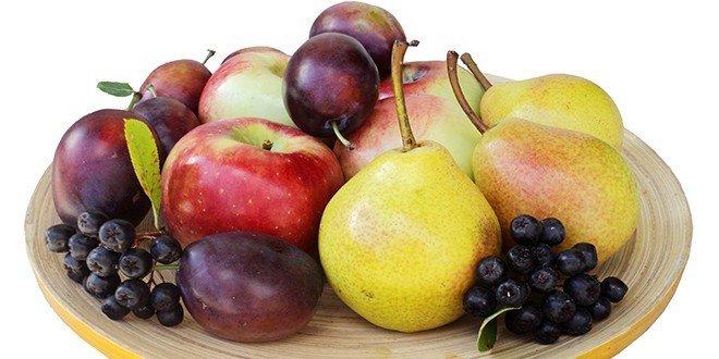 Früchte haben viele Vitamine, Nährwerte
