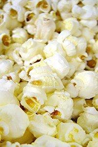 Popcorn wird aus Mais hergestellt
