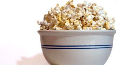 Popcorn, so viele Kalorien stecken drin.
