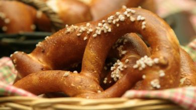 Laugenbrezel: Kalorien und Nährwerte der Brezel