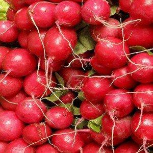 Das B-Vitamin ist wichtig für die Blutbildung und die Funktion von Schleimhäuten das bei Radieschen und Rettichenthalten ist.