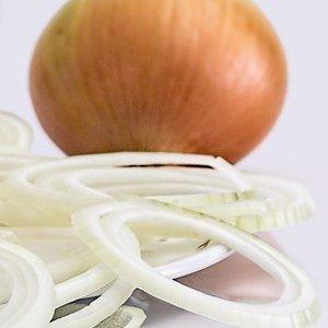 Die Zwiebeln werden bis zu 200 g schwer