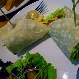 Eine in den USA verbreitete Variante besteht aus zwei Tortillas