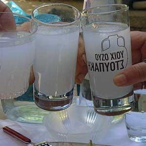 Der Ouzo wird nachweislich seit dem 19. Jahrhundert produziert.