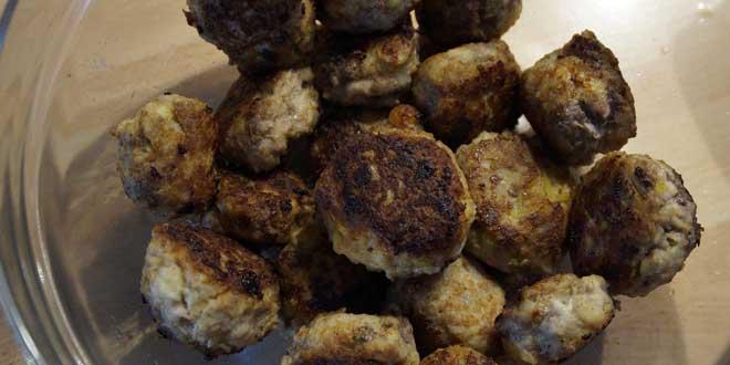 Schwedische Köttbullar - Fleischkügelchen