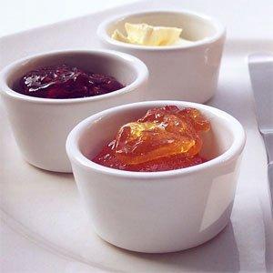 Zu diesen Rezepten gehören zum Beispiel auch Mehrfruchtmarmeladen wie Erdbeer-Apfel-Marmelade und Marmelade aus Sauerkirsche, Stachelbeere und Schwarzer Johannisbeere .