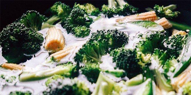Frisches Gemüse ist nicht nur köstlich sondern auch gesund.