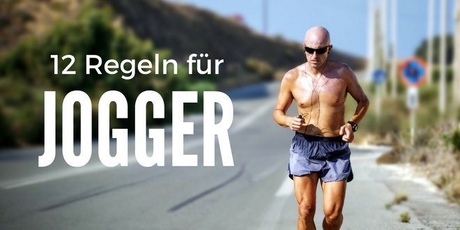 joggen 12 regeln f r l ufer und jogger. Black Bedroom Furniture Sets. Home Design Ideas