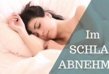 Die neue Schlaf-Diät! Schlank im Schlaf – Abnehmen im Schlaf funktioniert sehr gut.