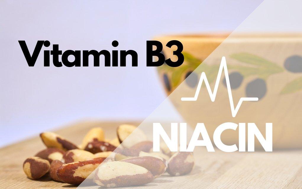 Niacin oder Vitamin B3 ist hilfreich bei verschiedenen gesundheitlichen Problemen.