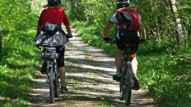 Mit Fahrradfahren kannst du dich fit und gesund halten
